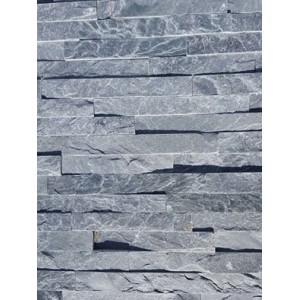 Akmens panelė ,,Silver/Green'' 15x60 cm, m2